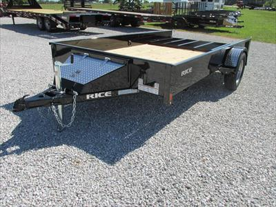 2017 Rice stealth 76x12 utility trailer