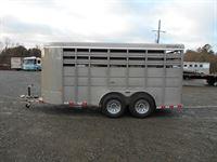 2018 Delta standard livestock (bumper pull) 16'
