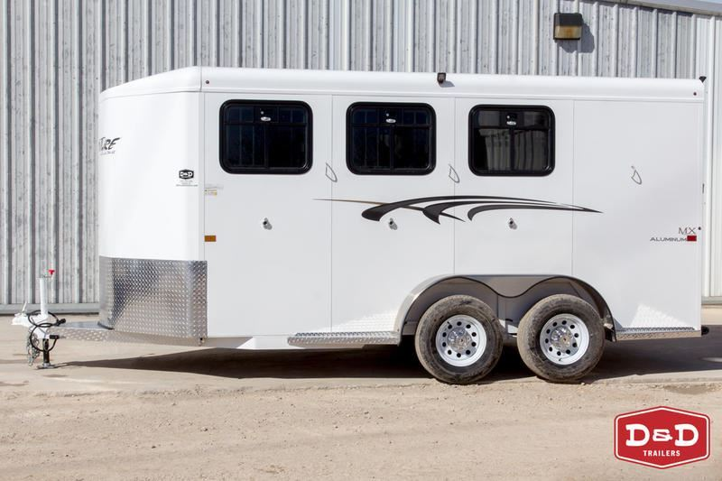 2019 Adventure adventure mx 3 horse trailer