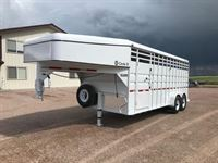 2019 Circle D 20 foot stock trailer 6?8? wide