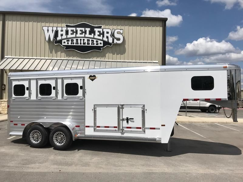 2018 hart trailers mvp 3h with smart storage