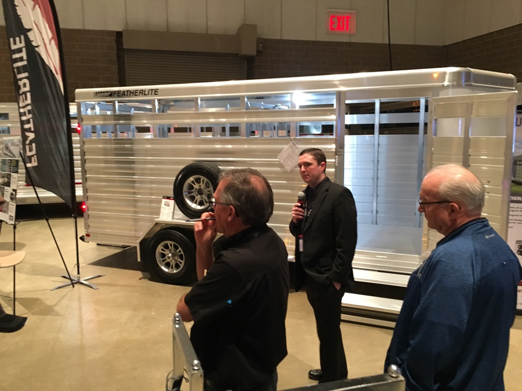 Horse Trailer World at Featherlite dealer conference